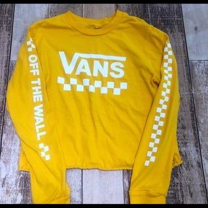 ⭐️ Vans Off The Wall top size M ⭐️